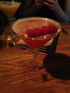 Raspberry Daiquiri and Porn Star cocktails