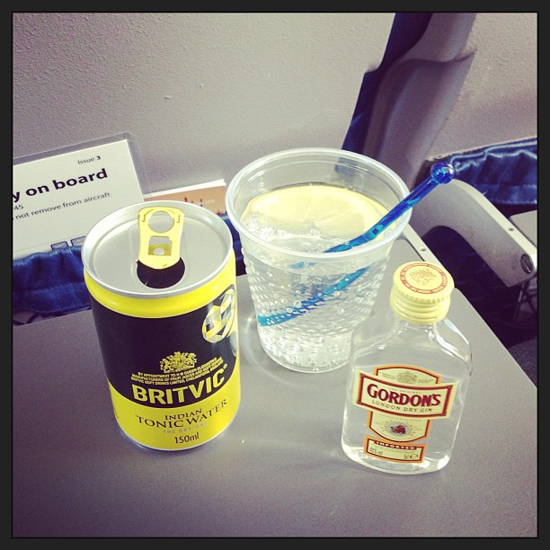 Gin and Tonic on BMI Regional flight