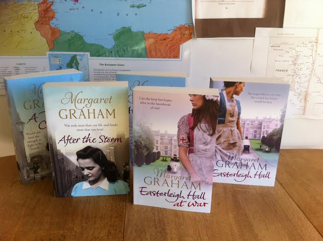 A Day in the Life of bestselling author MARGARET GRAHAM 10books