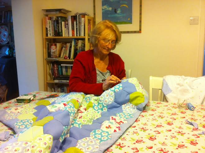 A Day in the Life of bestselling author MARGARET GRAHAM 7quilt