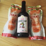 pimms frozen and pimms cider cup review, pimm's