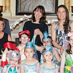 Flamingo Chicks Disabled Dancing Children's group at Downing Street