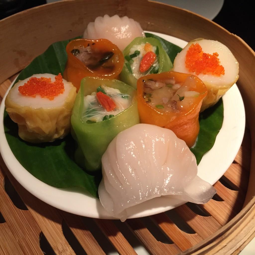 dumplings from Hakkasan