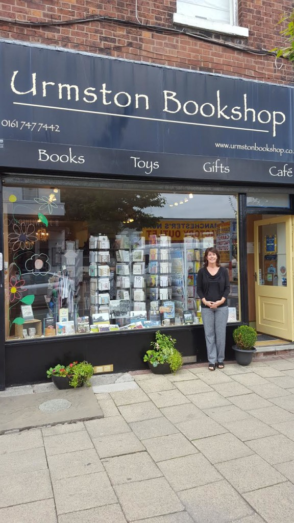 The Bookshop Owner Jane Cable talks to Sandra Foy